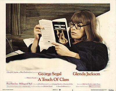 A Touch of Class 1973 Original Movie Poster Comedy Romance