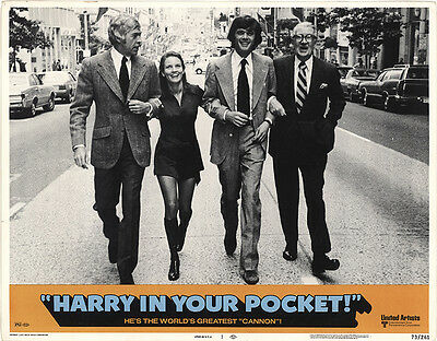 Harry in Your Pocket 1973 Original Movie Poster Comedy Crime Drama