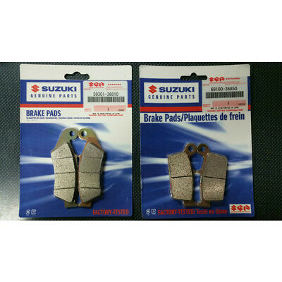 Genuine Suzuki Sintered Brake Pads Front and Rear Set for DRZ400E 400S 400SM