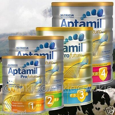 6 x900g Aptamil Profutura/Karicare Infant/Toddler Formula 1,2,3,4[白金可瑞康爱他美]