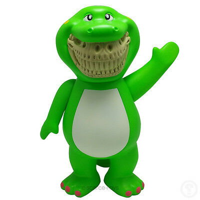 Made by Monsters Bubble B-Rex Barney Grin JPS Edition by Ron English | Vinyl Toy