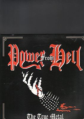 POWER FROM HELL - the true metal LP