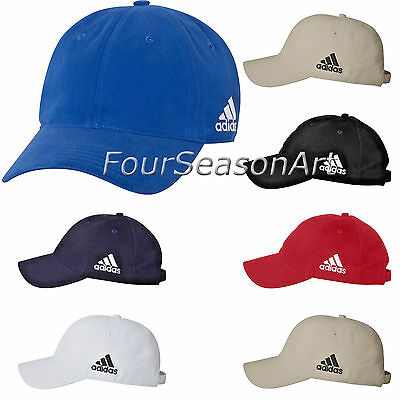 adidas Mens Unstructured Cresting Cap Unstructured six panel low-profile Hat A12