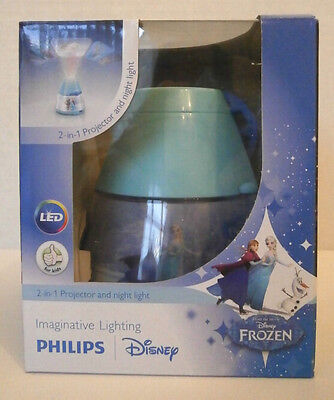 Childrens 'Frozen' Projector/Night Light - Philips - 2-in-1 Fun And Easy Use