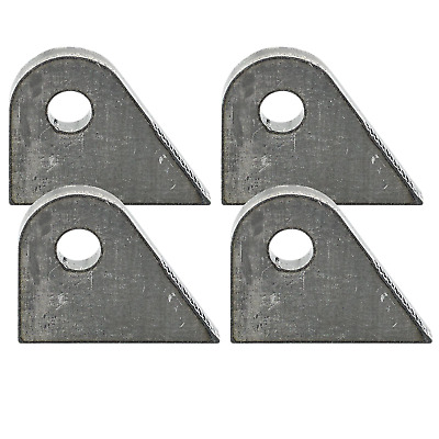 """Lowbrow Stainless Bolt On 3//4/"""" Ignition Switch Mounting Tab Bracket chopper cafe"""