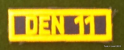 Cub Scout Den Number Patch Number 11
