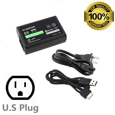 NEW AC Power Adapter Supply Charger For Sony PS Vita PSV USB Cable Cord