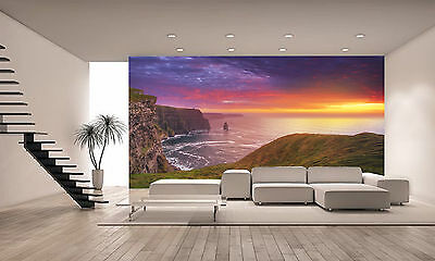 Cliffs of Moher Wall Mural Photo Wallpaper GIANT DECOR Paper Poster Free Paste