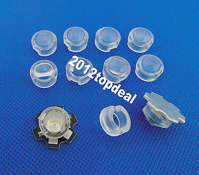 13mm *10mm Led Lens Holder 90 Degree For 1w 3w LED High Power Bead Bulb 10pcs