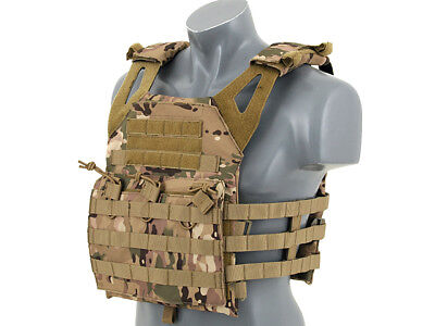 Gilet Tattico Softair Molle Jpc Multicam - Airsoft Tactical Vest Sas 2541