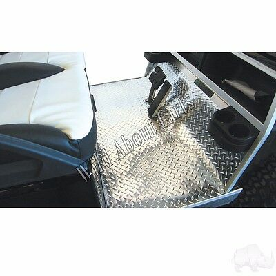 Golf Cart Diamond Plate Rubber Mat Floor Cover for Club Car Precedent
