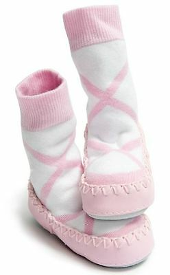 Mocc Ons Slipper Socks - Ballerina