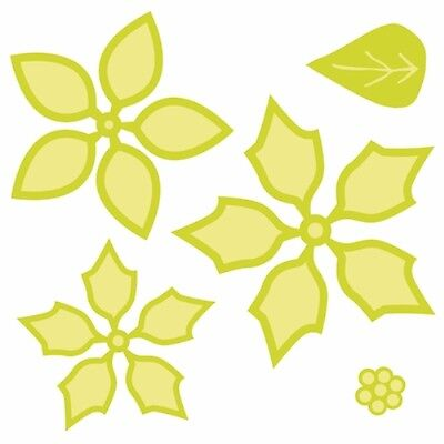Kaisercraft - Layered Poinsettia die - for use in most cutting systems!