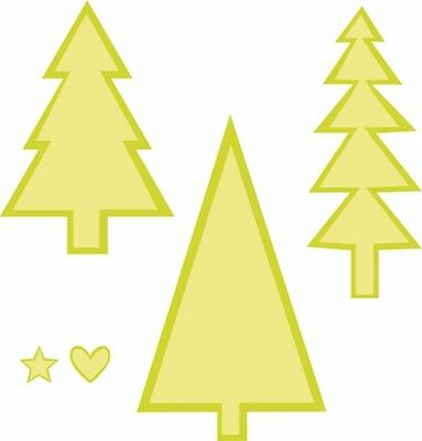 Kaisercraft - Christmas Trees dies - for use in most cuttings systems!