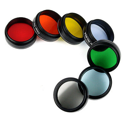 "New 1.25"" Eyepiece Filter Colored Planetary & Moon Filters for 31.7mm Telescope"