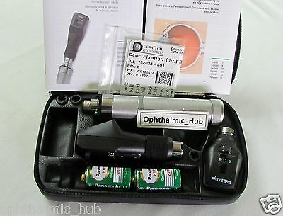 Welch Allyn 3.5v Streak Retinoscope & Coaxial Ophthalmoscope & Handle Free Ship