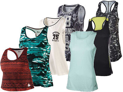 (26) Crivit Damen Shirt Fitness Sportshirt Wellness Top Sport Funktionstop NEU