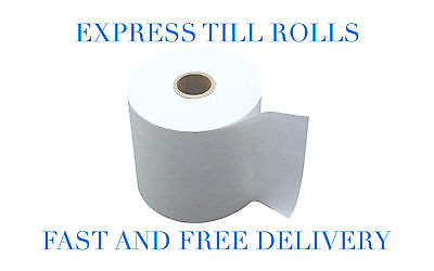 80x80mm Thermal Paper Till & Epos Printer Receipt Rolls: 20, 40, 60, or 80 Rolls