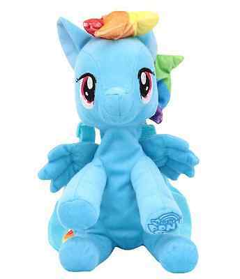 NEW, Girls'My Little Pony Rainbow Dash Plush Backpack