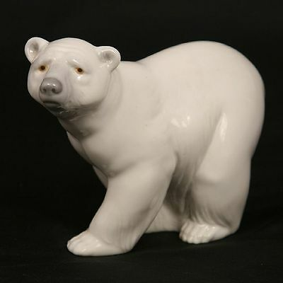 LLADRO PIECE #1207 Attentive Polar Bear