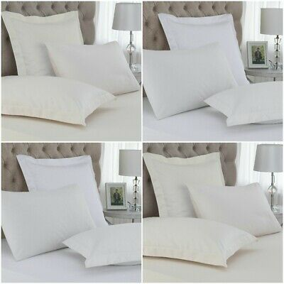 GREAT KNOT Pair Of CONTINENTAL PILLOW CASES 400 THREAD COUNT