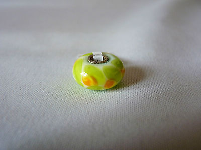 Trollbeads Glass Buttercup Bead