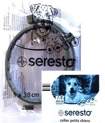 Collier Chien Seresto Bayer 38Cm Garantie 7 À 8 Mois De Protection