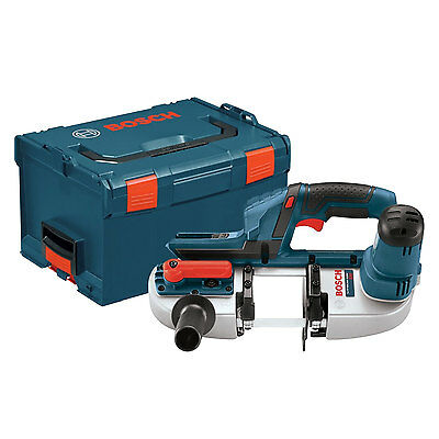 18 Volt Li-Ion Compact Band Saw Tool Only + L-BOXX-3 Bosch Tools BSH180BL New