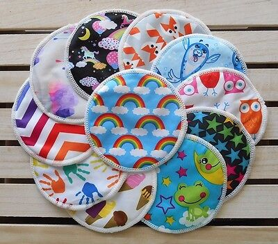 Reusable Washable Breast Pads - Bamboo Bundle Set - 3 Pairs - PICK YOUR STYLES
