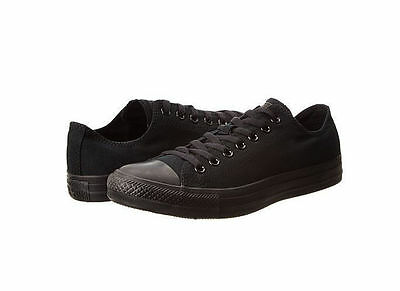 98b6a8d2021d  NEW MEN WOMEN CONVERSE Chuck Taylor All Star OX Low Shoes - Black Mono -  M5039