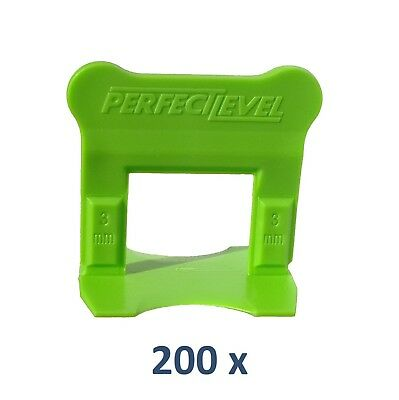 Nivellement Carrelage 200 Clips 3 Mm Perfectlevel Pro