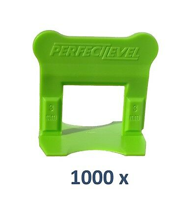 Nivellement Carrelage 1000 Clips 3 Mm Perfectlevel Pro