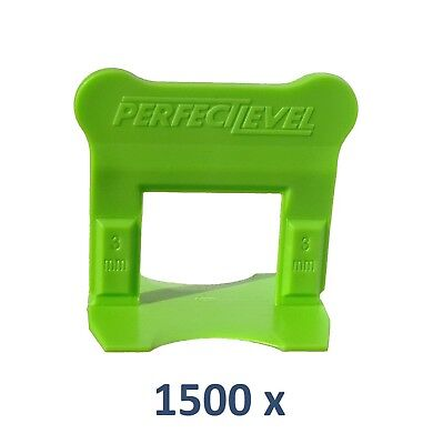 Nivellement Carrelage 1500 Clips 3 Mm Perfectlevel Pro