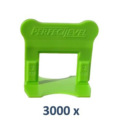 Nivellement Carrelage 3000 Clips 3 Mm Perfectlevel Pro