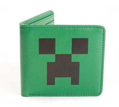 MINECRAFT CREEPER WALLET kids boys game toy party birthday gift NEW