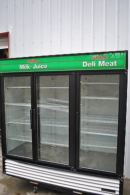True Gdm-72 Refrigerated Glass Door Merchandiser