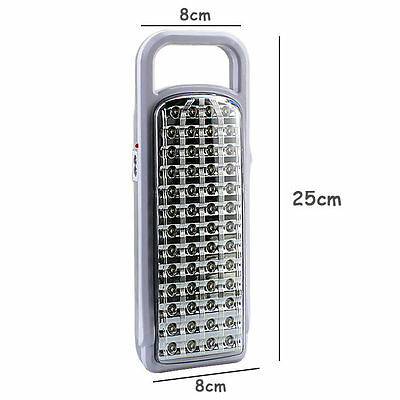 KMS 52 LED Rechargeable Emergency Light Portable Handheld Ourdoor Camping Lamp