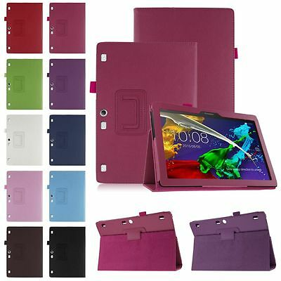 """Magnetic Flip Leather Cover Stand Thin Case For Lenovo Tab 2 A10-70 10.1"""" Tablet"""