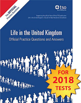 Life in the UK Official Practice Questions and Answers 2018 Tests