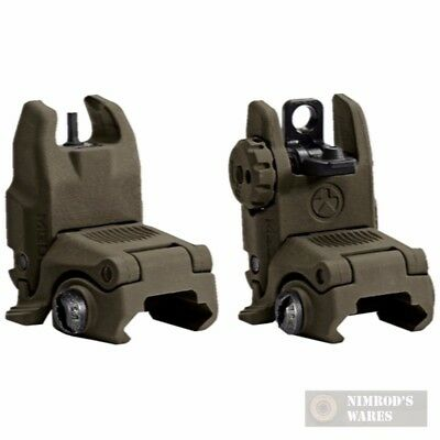 MAGPUL MAG247 & MAG248 MBUS Front & Rear Sights SET ODG NEW FAST SHIP
