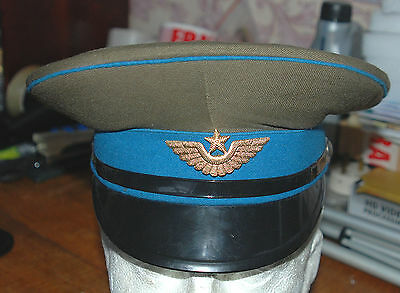 Russian Army Officers  Cap And Badge (B)