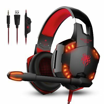 Cuffie Gaming per PS4 KingTop EACH G2000 Cuffie da Gioco Stereo Bass PC Cellular