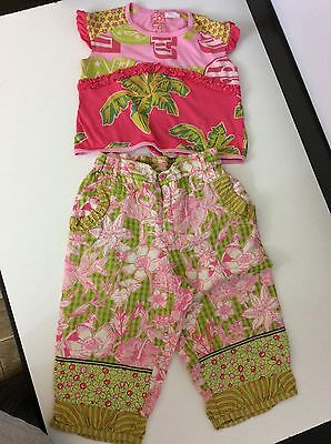 OILILY 2 Piece Outfit Set Age 2 Years / 92 Girls Top Bottoms Designer Summer