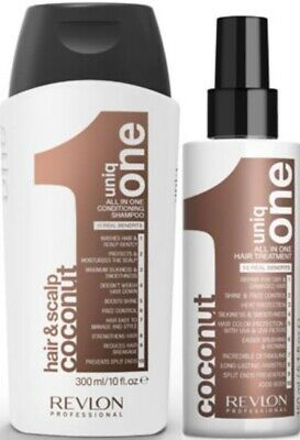 Revlon Professional Uniq One Coconut Conditioning Shampoo & Hair Treatment Duo