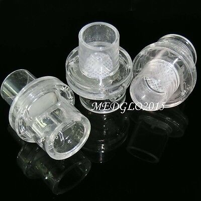 10pcs Oxygen Inlet One Way One Mouthpiece For CPR Resuscitator MASK Training