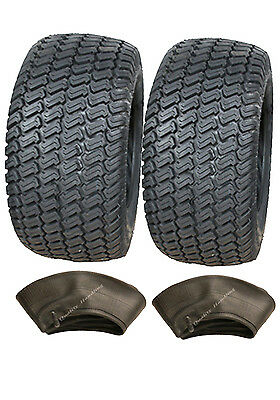 Two 13x5.00-6 4ply tyre & tubes Multi turf grass & lawn mower 13 500 6 lawnmower