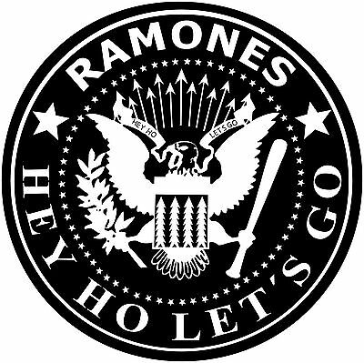 Parche imprimido /Iron on patch, Back patch, Espaldera / - Ramones, D
