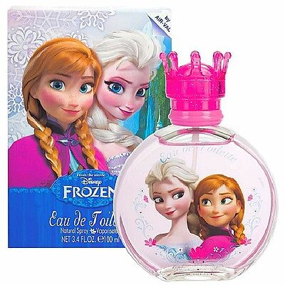 Disney FROZEN Perfume Eau De Toilette 100ml Girls Princess Elsa Anna Xmas Gift