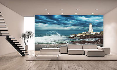 Big Ocean Wave Wall Mural Photo Wallpaper GIANT DECOR Paper Poster Free Paste