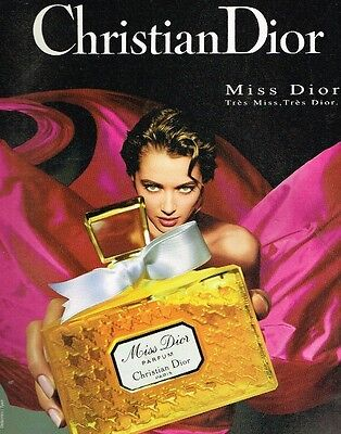 Publicité advertising 1994 Parfum Miss Dior de Christian Dior